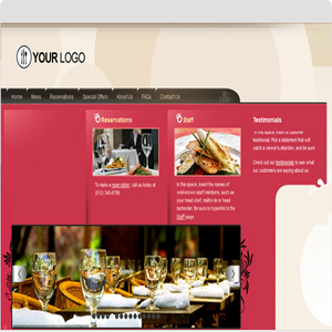 Cafe – Restaurant Website Design Services In India, USA